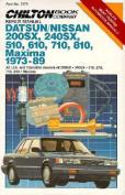 Datsun/ fits Nissan Maxima 1973-89 Repair Manual