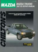 Mazda Trucks 1987-92 Repair Manual