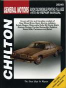 GM Buick/Olds/Pontiac 1975-90 Repair Manual