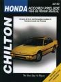 Honda Accord and Prelude (1984-95)