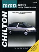 Toyota Previa (1991-97) Repair Manual