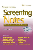 Screening Notes