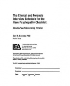 A Clinical and Forensic Interview Schedule for the Hare Psychopathy Checklist