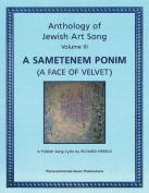 Anthology of Jewish Art Song, Vol. 3