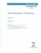 Lidar Atmospheric Monitoring