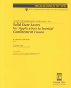 Solid State Lasers for Application to Inertial Confinement Fusion