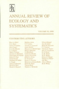 Annual Review of Ecology and Systematics