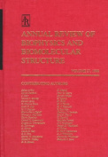 Annual Review of Biophysics and Biomolecular Structure