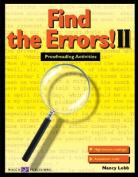 Find the Errors! II