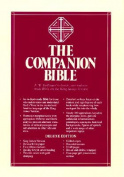 Companion Bible (Black)Genuine Leather