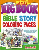Really Big Book of Bible Story Coloring Pages (Big Books