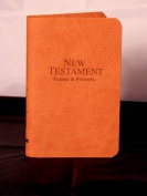 Vest-Pocket New Testament with Psalms & Proverbs-KJV