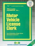 Motor Vehicle License Clerk