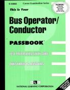 Bus Operator Conductor