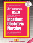 Inpatient Obstetric Nursing .)