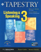 Tapestry Listening and Speaking