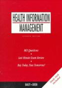 Appleton & Lange's Quick Review Health Information Management