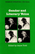 Gender and Literary Voice