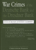 The War Crimes of the Deutsche Bank and the Dresdner Bank