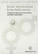 Gender Mainstreaming in the Public Service