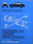 Volkswagen 1600 Fastback 1965-70 Autobook