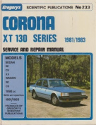 Toyota Corona 1892 Cc St 130 Series 1981-1983