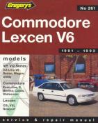Holden Commodore VP, Vq (1991-93) / Toyota Lexcen VP 6cyl