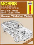 Morris Marina 1.8 Owner's Workshop Manual