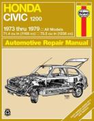 Honda Civic 1200 Owner's Workshop Manual