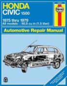 Honda Civic 1500 CVCC Owner's Workshop Manual