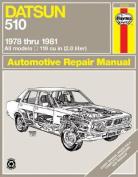 Datsun Violet Owner's Workshop Manual, 1978-82