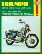 Triumph 650 and 750 4 Valve Unit Twins Owner's Workshop Manual