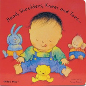 Head, Shoulders, Knees and Toes... (Baby Board Books) [Board book]