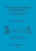 Study of Inscribed Material from Roman Britain