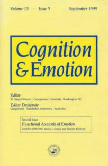 "Functional Accounts of Emotion: A Special Issue of the Journal ""Cognitiona and Emotion"""
