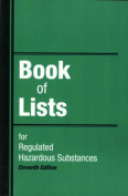Book of Lists for Regulated Hazardous Substances