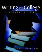 Writing Your Way Through College
