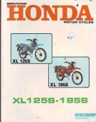 Honda Xl 125s Xl 185s Single