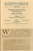 The Documentary History of the Ratification of the Constitution, Volume XIV