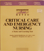 Critical Care and Emergency Nursing