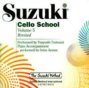 Suzuki Cello School, Volume 5  [Audio]