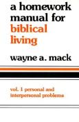 Homework Manual for Biblical Living