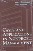 Cases and Applications in Nonprofit Management