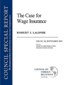 The Case for Wage Insurance