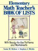 The Elementary Math Teacher's Book of Lists
