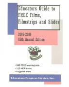 Educators Guide to Free Films, Filmstrips, & Slides