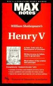 """""""Henry V"""" (MaxNotes)"""