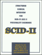 Structured Clinical Interview for DSM-IV Axis II Personality Disorders (SCID-II), Interview and Questionnaire
