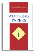 Working Papers Volume I