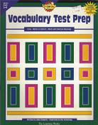 Vocabulary Test Prep